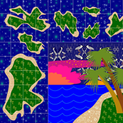 island quilt block