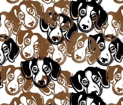 Beagles! 2 - hand-carved design