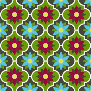 c-rhombus flower 2 - hiking