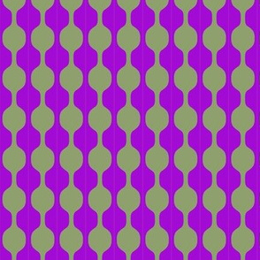 Beads Olive Purple 1