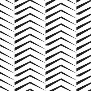 long triangle chevron