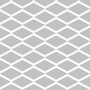 white fish net on grey