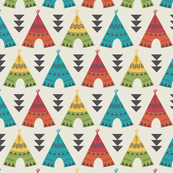 Colorful Teepees