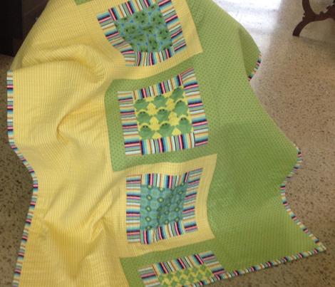 Lily pad stripe