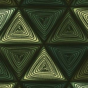 triangles green