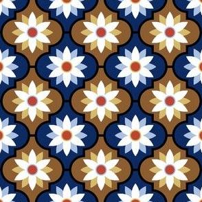 c-rhombus flower 2 - art nouveau