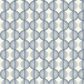 Seamless Half Circles Pattern