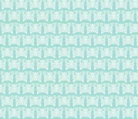 Zentangle Mint Butterfly