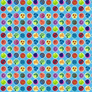 petri dish polka dots