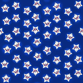 Westie Stars & Stripes (Small)
