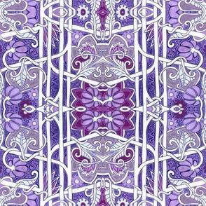 Purple Victorian Twist