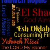 Names of God (Black)