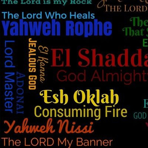 Names of God (Black)
