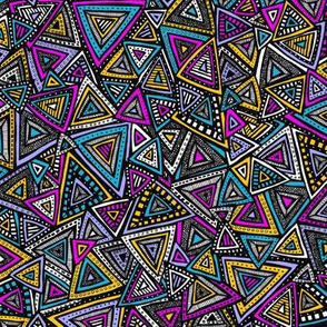 Tribal Triangles (Small)