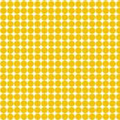 dots mustard yellow