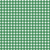 dots kelly green