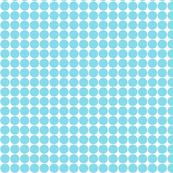 dots sky blue