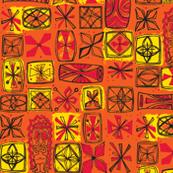Castaway Cloth- orange