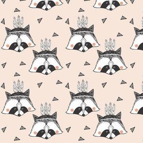 racoon nude SMALL PRINT - elvelyckan