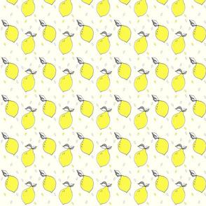 lemon SMALL PRINT - elvelyckan