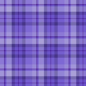 Blueberry Purple Plaid