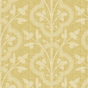 Norman Vines ~ Trianon Cream Linen Luxe