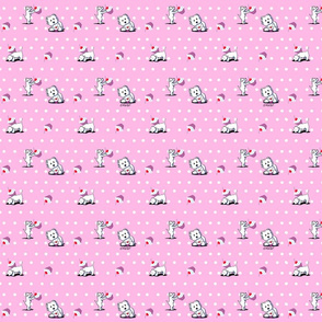 Cupcake Westies On Pink (Small)