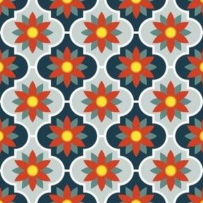c-rhombus flower 2 - alpine red