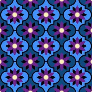 c-rhombus flower 2 - nightshade
