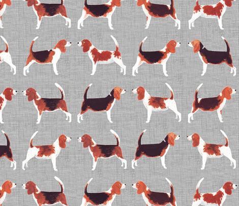 Beagle Meets Beagle   Grey