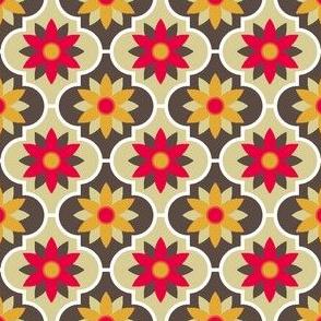 c-rhombus flower 2 - kitchen