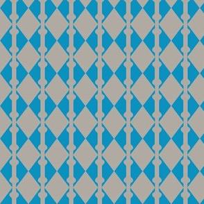 Diamonds Blue Grey 2