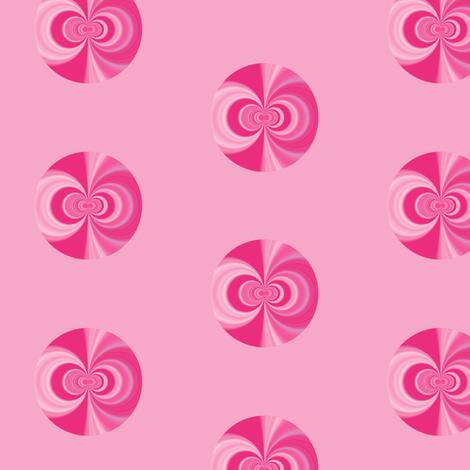 Pink Abstract Dot