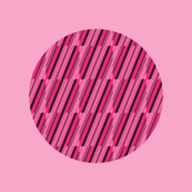 Pink Polka Dots with Stripes