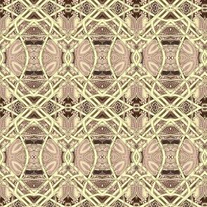 When Plaid Goes Art Nouveau