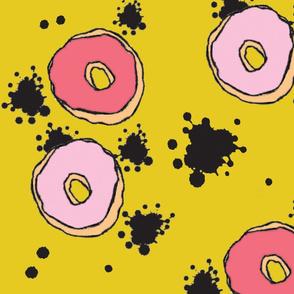 Big Pink Doughnuts