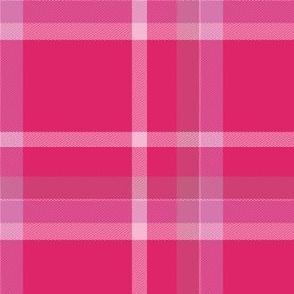 Bright Pink Tartan