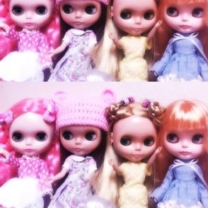 Blythe and friends