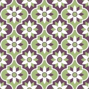 c-rhombus flower 2 - geometric