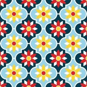 c-rhombus flower 2 - sailing
