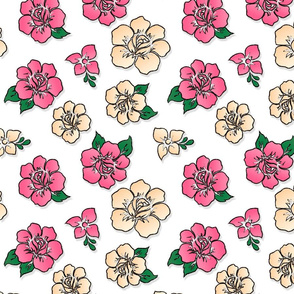 Tropical Flower Repeat