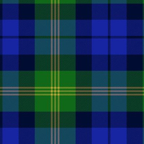 Ancient Gordon tartan variation, modern colors