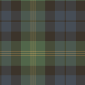 Ancient Gordon tartan, traditional colors