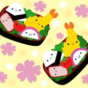 Happy Bento Box - Yellow