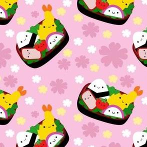 Happy Bento Box - Pink