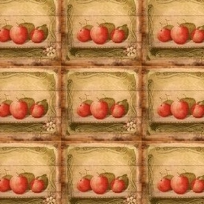 Apples on the Shelf