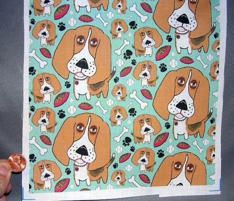 Beafus the Bad Boy Beagle, small scale