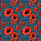 Pantone Poppies