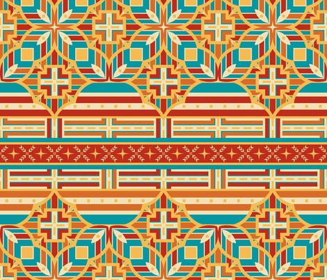 Bold Southwest Horizontally Puzzling Paths
