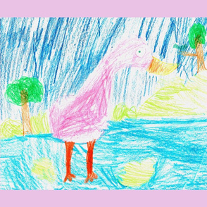 Flamingo by Laci